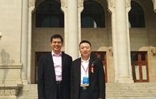 董事长郑两斌与北京科创企业投融资联盟秘书长李浩
